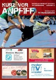 Ausgabe 12 2012/2013 - HTV Meissenheim
