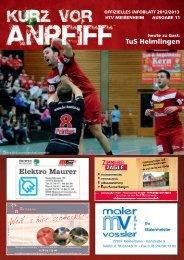 Ausgabe 11 2012/2013 - HTV Meissenheim
