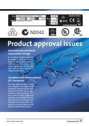 Product approval issues - Grundfos E-Newsletter