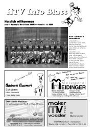 Herzlich willkommen - HTV Meissenheim