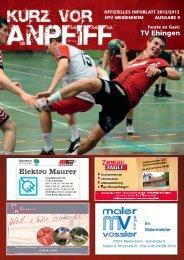 Ausgabe 9 2012/2013 - HTV Meissenheim