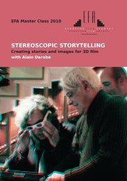 STEREOSCOPIC STORYTELLING