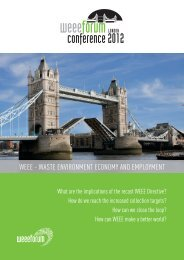 WEEE Forum conference in London_2012 09 20_Brochure_Final