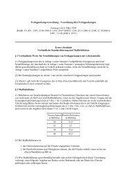 Fertigpackungsverordnung - Verordnung über Fertigpackungen ...
