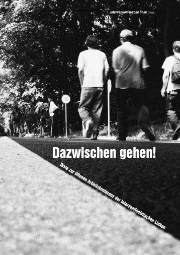 Dazwischen gehen! - Gruppe dissident