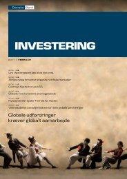 Globale udfordringer kræver globalt samarbejde - Danske Bank