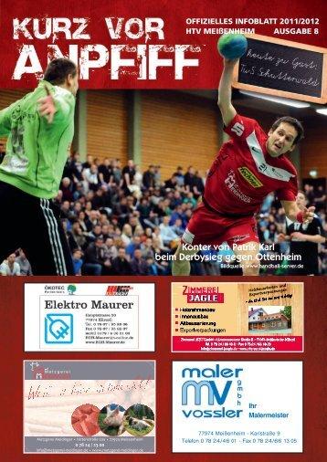Ausgabe 8 2011/2012 - HTV Meissenheim