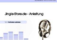 Anleitung Anleitung Anleitung - Jingle-Store.de