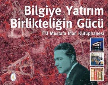 ITU Mustafa Inan Library - İstanbul Teknik Üniversitesi