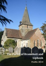 The Parish of Bramshott and Liphook - The Diocese of Portsmouth