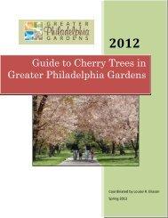 Guide to Cherry Trees in Greater Philadelphia Gardens