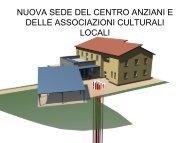 la nuova sede del centro anziani e delle associazioni ... - Centro CISA