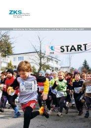 Geschäftsbericht 2007: Bedeutung der Sportveranstaltungen ... - ZKS