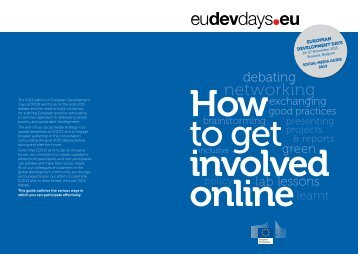 sOCIAL MEDIA GuIDE - Capacity4Dev - Europa
