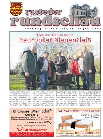 rasteder rundschau, Ausgabe April 2010