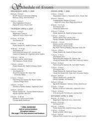 Program Book - NCUR 20