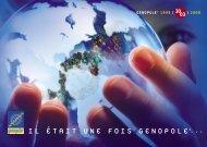 Introduction : la biologie à grande échelle - Genopole