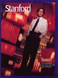 Fall 1997 – Issue 51 - Stanford Lawyer - Stanford University