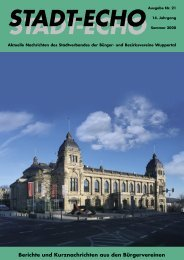 StadtEcho 21.08.-25.08.indd - Stadtverband der Bürger- und ...