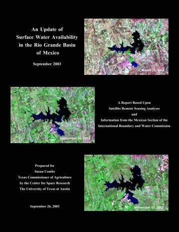 An Update of Surface Water Availability in the Rio Grande Basin of ...
