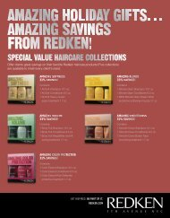 Offer clients great savings on their favorite Redken haircare products ...