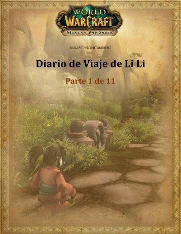 Diario de Viaje de Li Li - Blizzard Entertainment