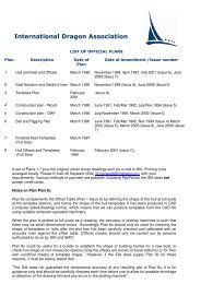 2009 Dragon Class Plans - General Information - International ...