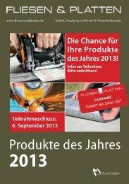 Produkte des Jahres - fliesenundplatten.de
