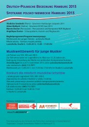 Musikwettbewerb für junge Musiker - Kulturograf