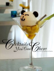 Cocktails You Can Chew