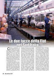 Le due facce della Fiat nel Sud Italia - Porto & diporto