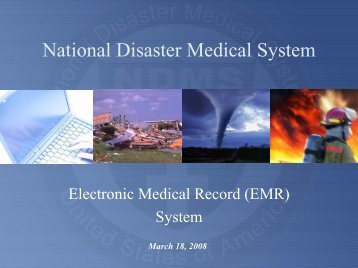 NDMS Electronic Medical Records