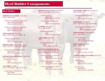 2009 Herd Builder Brochure - AL BCIA