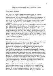 Heino Falcke: Schöpfungsverantwortung in jüdisch-christlicher ...