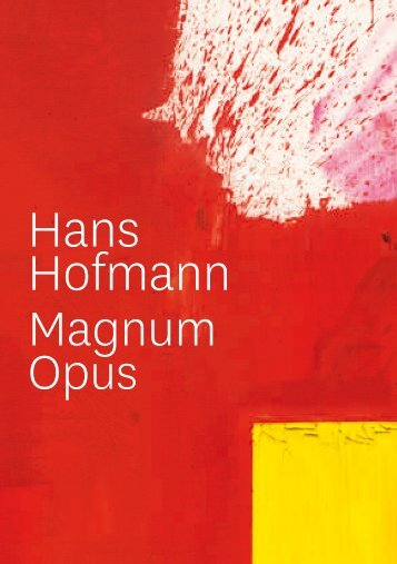 Hans Hofmann - Pfalzgalerie Kaiserslautern