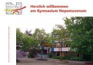 Schulprospekt - Gymnasium Nepomucenum Coesfeld
