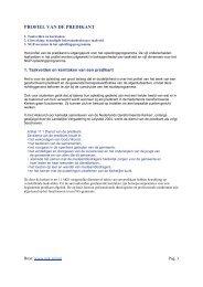 PROFIEL VAN DE PREDIKANT - Smouter.net