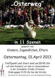"""""""Osterweg"""" - Ev.-luth. Kirchengemeinde Sittensen"""