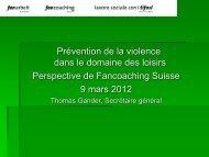 Thomas Gander - Jeunes et Violence