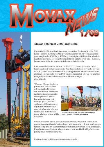 Movax Intermat 2009 -messuilla