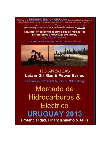 Mercado de Hidrocarburos & Eléctrico URUGUAY 2013