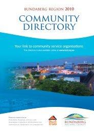 community directory - Bundaberg Regional Council