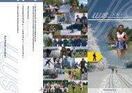 Aus Freude am S port - LWS Langlaufwandergruppe Schaffhausen