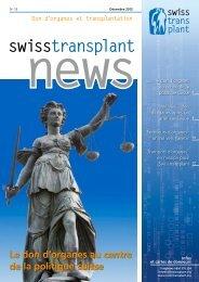 Télécharger - Swisstransplant