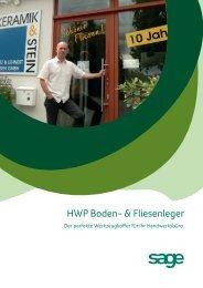 HWP Boden- & Fliesenleger - Business-Ware