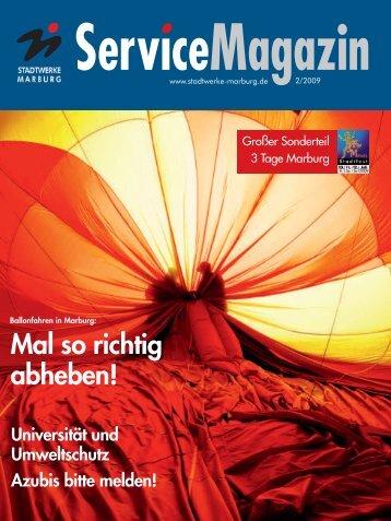 ServiceMagazin - Stadtwerke Marburg