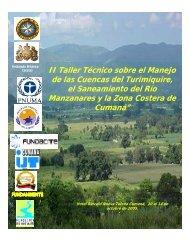 II Taller Técnico sobre el Manejo de las Cuencas del ... - Eco-Index