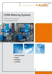 LEWA Metering Systems - ptmg.hr