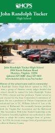 John Randolph Tucker - Henrico County Public Schools