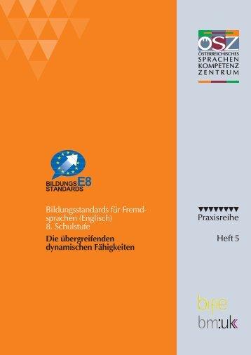 ÖSZ Praxisreihe - Heft 5 - österreichisches Sprachen-Kompetenz ...